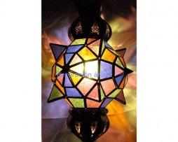 lámpara árabe marroquí 60 cm x30 cm