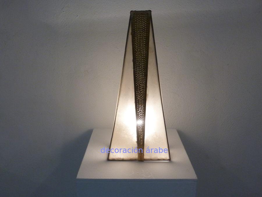 Lámpara de mesa marroquí pie