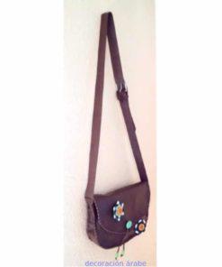 bolso artesano mujer de cuero