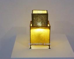 Lámpara marroquí Yang, amarilla