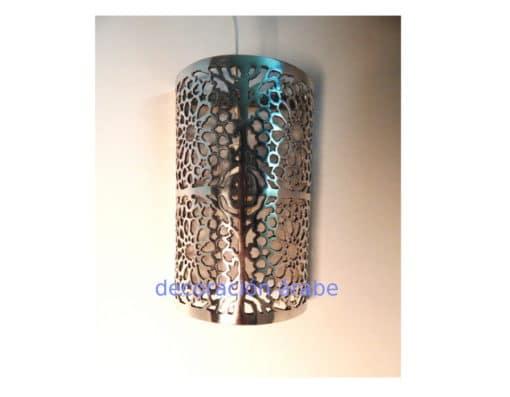 Aplique marroquí hierro cromado