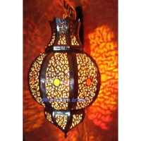 lámpara marroqui romboidal