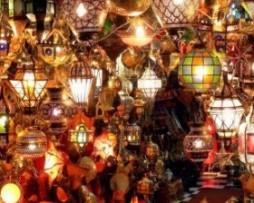 lámparas marroquís y árabes