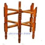 patas de madera tallada árabe