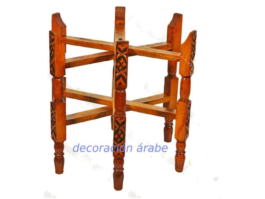Patas de madera de mesa plegable rabe - Patas de mesa de madera ...