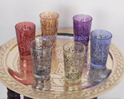 vasos árabes florales