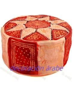 Puff Marroquí de piel