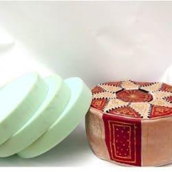 puff árabe marroquí relleno
