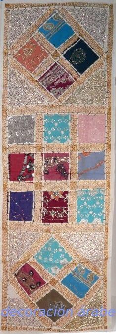 tapiz india alargado rojo