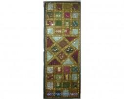 tapiz alargado verde India