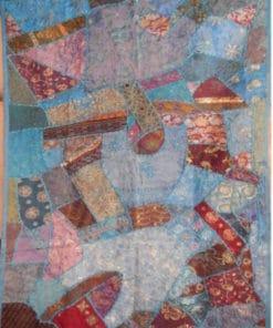 tapiz pared hindúpatcwork