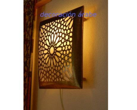Aplique árabe geometría