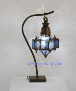 lampara marroquí mesa
