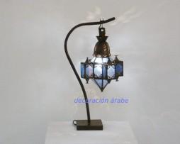 lampara árabe mequita, azul
