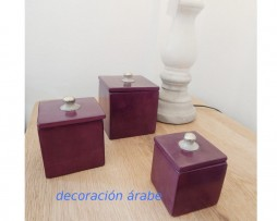 Cajas de alabatro marroquíes
