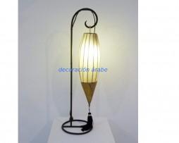 lámpara árabe oriental beige