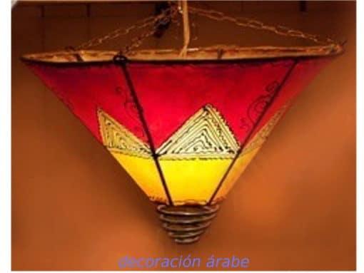 plafón árabe marroquí piel
