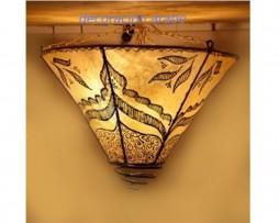 plafon marroquí piel cónico