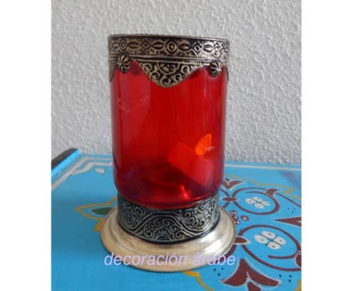 porta velas árabe