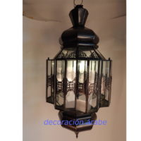 lámpara árabe geometría