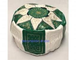 puff árabe verde