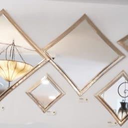 espejos latón árabes