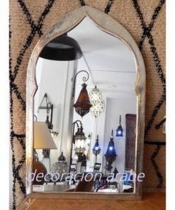 espejo árabe latón