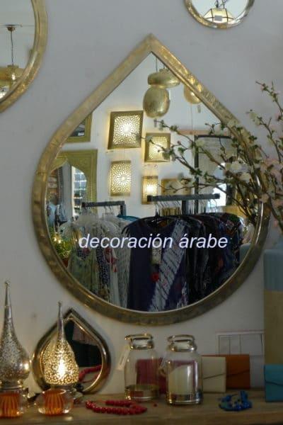 espejo árabe alpaca