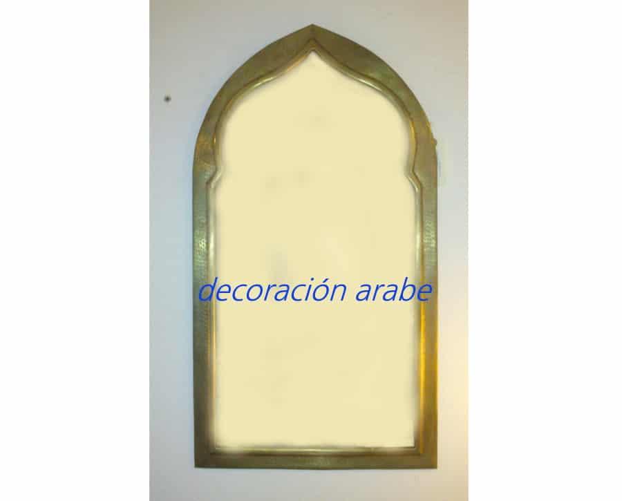 Espejo oriental diferentes tama os dorados y plateados for Espejos diferentes
