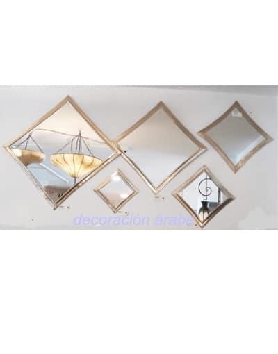 espejos árabes latón