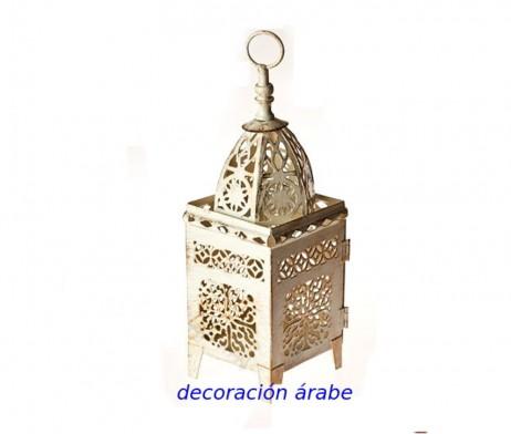 farol árabe celosía