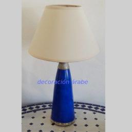 lampara marroquí azul