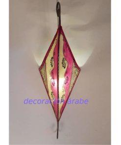 aplique árabe piel colores y forja