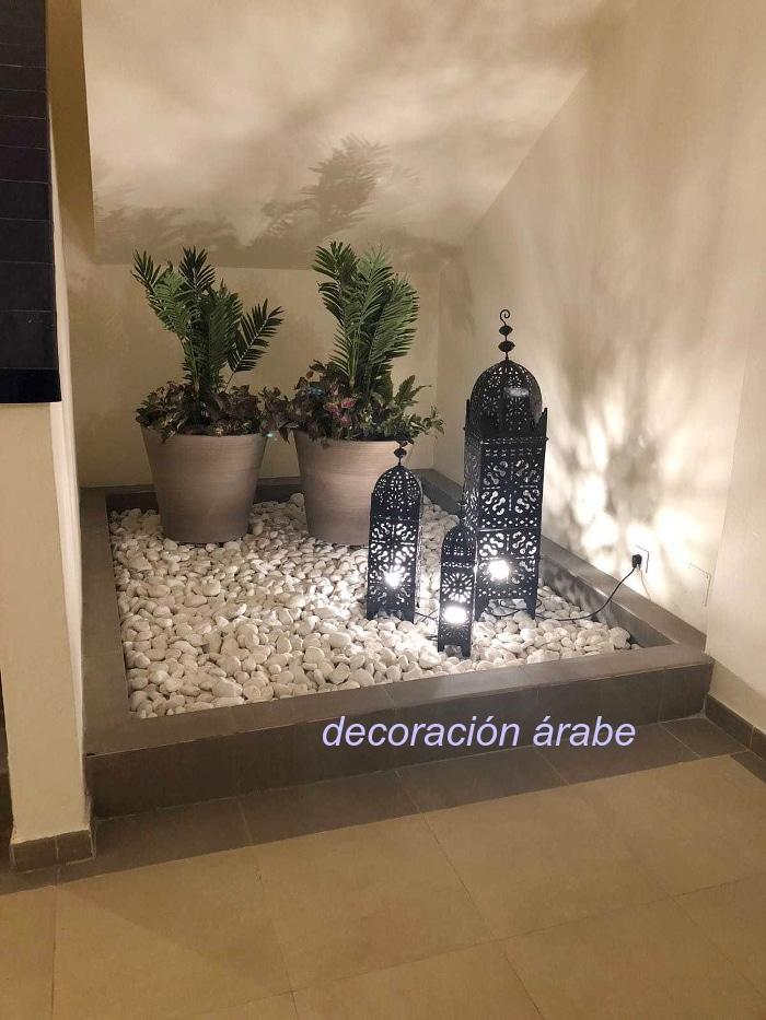 farol marroquí forja