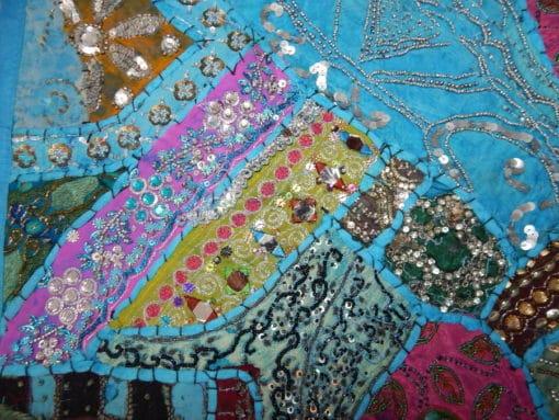 tapiz ihindú celeste detalle 2