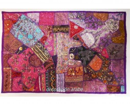 tapiz india gran calidad morado