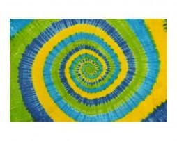 colcha india espiral