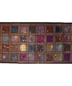 camino de mesa india patchwork
