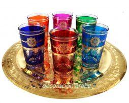 vasos té marroquíes  Estrella