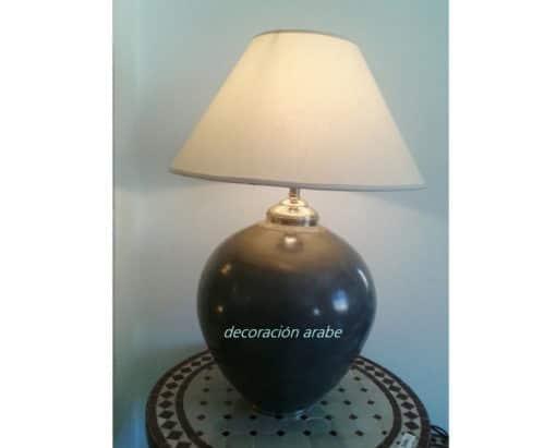 lámpara marroquí negra