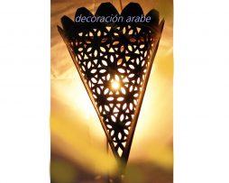 aplique árabe forja floral