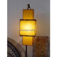 lámpara oriental shinto amarilla