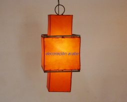 lampara oriental Shinto naranja