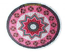 mantel india estrella puntas