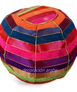puff india étnico multicolor