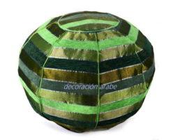 puff india étnico verde