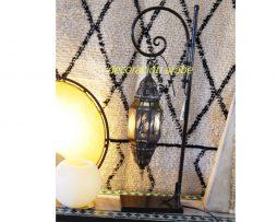 lámpara árabe Qebir transparente