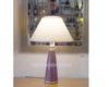 lampara mesa marroqui morada