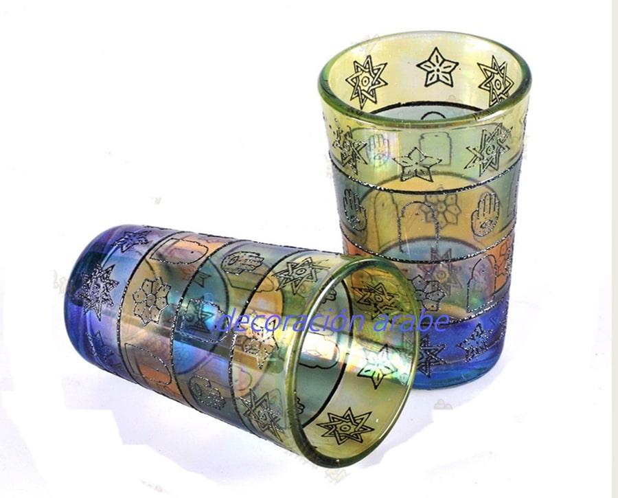 Vasos para el t rabes estrella de bagdad for Vasos de te