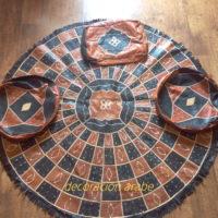 alfombra africana cuero Niger